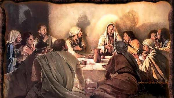 jezus roept hier mensen samen